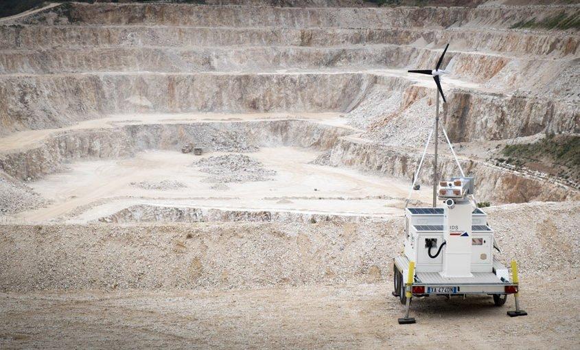 Trusted slope monitoring radar